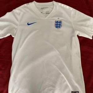 Authentic Nike 2014 England soccer jersey